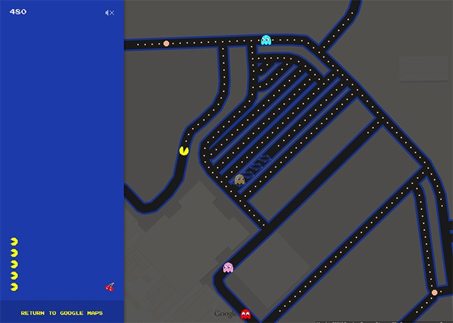 Devon Website Design Amp Development Function28 Limited 187 Google Pacman