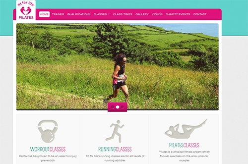 Tiverton Devon Website Updates, Fit for life pilates