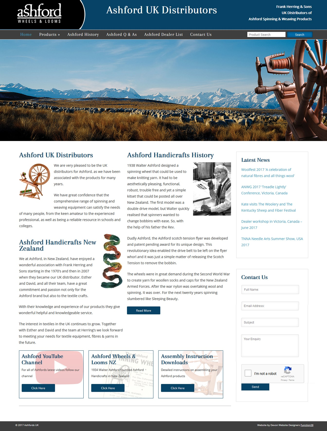 Devon Website Design Amp Development Function28 Limited 187 Ashfords